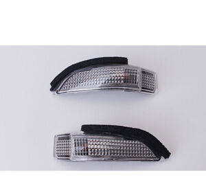 Pair Turn Side Mirror Led Light Lamp Fit For Toyota Camry Corolla Yaris Allion