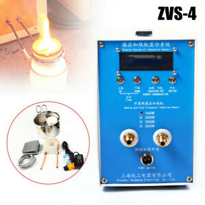 Zvs 4 Induction Heater Heating Machine High frequency Melting Quenching Furnace