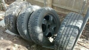 Set Of 4 Used 2010 2011 2012 Ford Fusion Oem 17 Rims W 1 Year Old Tires