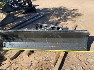 Tmg 4 Way Skid Steer 94 Hydraulic Angle Dozer Plow Blade Attachment Dirt Snow