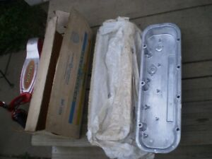 Mickey Thompson Holley Valve Cover Set Vintage Nos Chevrolet 396 427 In Box