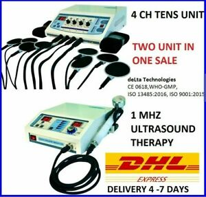 Combo Offer Electrotherapy Physiotherapy Deep Heat Treatment Ultrasound Therapy