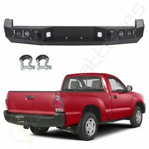 For 13 15 Toyota Tacoma Standard Protector Pickup Steel Rear Bumper Face Bar
