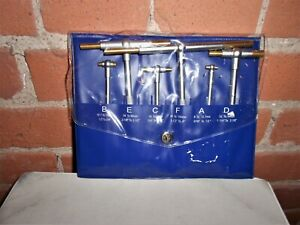 Fowler Telescoping Gage Set With Titanium Coated Contact Points