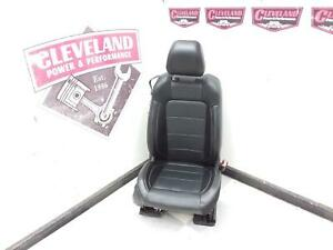 2015 15 Ford Mustang Gt Coupe Oem Rh Right Passenger Front Seat Black Leather