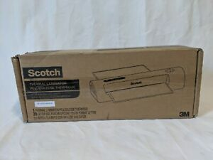 3m Tl901x 20 Thermal Laminator Bundle 9in 20 8 5x11 Pouches New Open Box