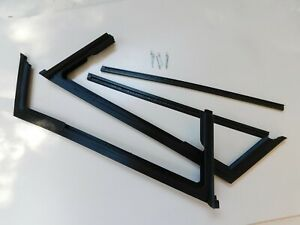 International Harvester Scout 80 800 New Vent Wing Window Complete Seal Kit