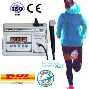 1mhz Ultrasound Ultrasonic Therapy Machine Portable For Multiple Pain Relief