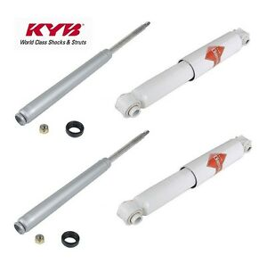 For Porsche 924 944 Suspension Front Struts Rear Shock Absorbers Kit Kyb