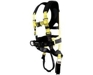 Ultra Safe X pad Back Pad Classic Harness With Hip D rings x large