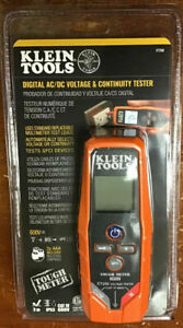 Klein Tools Et250 Digital Ac dc Voltage continuity Tester New New Sealed
