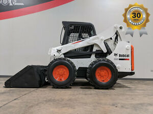 2014 Bobcat S650 2690lb Air Pneumatic Skid Steer Mini Loader Diesel
