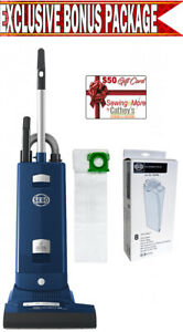 Sebo Automatic 91566am X8 Dark Blue Upright Vacuum Cleaner W Bonus Package