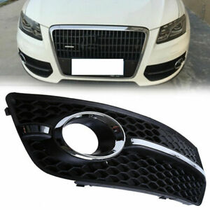 Front Bumper Fog Lamp Air Guide Grille For 08 12 Audi Q5 8r Pre facelift Ad0813