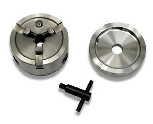 Brake Lathe Quick Chuck Adapter Set Inc Backing Plate And Key Hubless Rotors