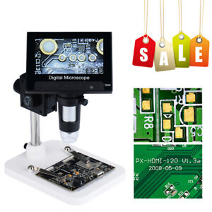 4 3 1000x Hd Lcd Monitor Electronic Digital Video Microscope Led Magnifier Best