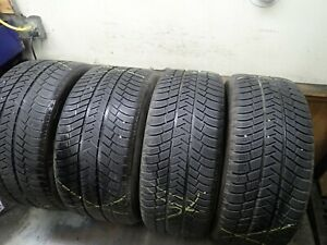 Set Of Michelin Pilot Alpin Pa3 Snow Tires 2 255 45 19 And 2 285 40 19 7 5 8 32