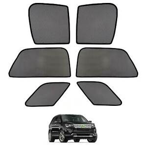 Car Window Sun Shades Side Sun Visor Uv Protection For Ford Explorer 2011 2019