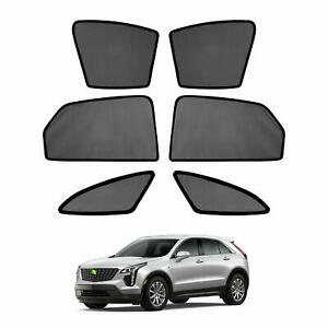 Car Window Sun Shades Side Sun Visor Uv Protection For Cadillac Xt5 2017 2020