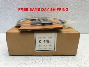 Gast Mfg Septic Air Pump Repair Kit K478 Item 748676 c3