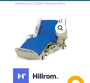 Hill rom P3200 Versacare Med Surg Electric Adjustable Hospital Bed W mattress