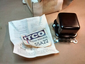 General Motors Type Itco Voltage Regulator 55a22 Fast Shipping