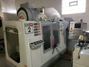 Used 2005 Haas Vf 2ss Cnc Vertical Machining Center Mill 30x16 12k Rpm 30hp Tsc
