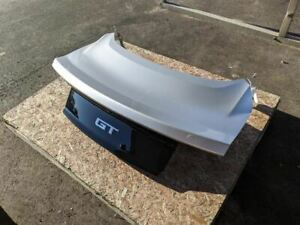 2015 2017 Ford Mustang Gt Smooth Trunk Decklid Wing Delete Ux Ingot Silver