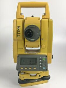 Topcon Gts 235w Surveying Total Station With New Battery