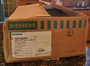 Siemens Hnf362pv 600vac dc Solar Safety Single Throw Disconnect Switch 3pst