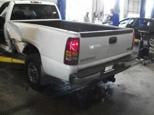 Front Bumper Chrome Without Tow Hooks Fits 99 02 Sierra 1500 Pickup 690959