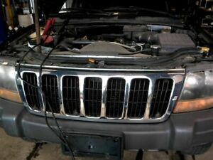 Grille Chrome Fits 99 03 Grand Cherokee 845716