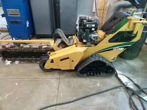 2013 Vermeer Rtx100 Walk Behind Trencher With Backfill Blade located Fairview Pa