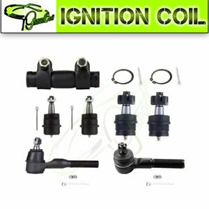 7pcs Front Ball Joint Tie Rod For 1997 2006 Jeep Wrangler 4wd Steering Parts