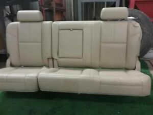 2012 Gmc Sierra 1500 Complete Rear Seats Tan 333 Leather Opt Az3 Seat 796893