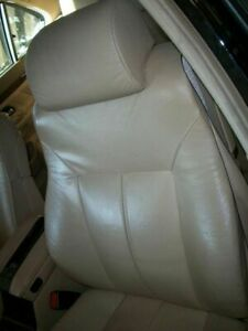 2000 Bmw 740i 740il E38 Driver Front Seat Assembly Tan Leather Heated