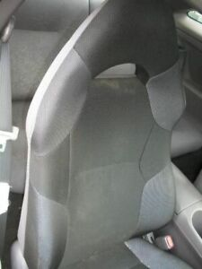 2000 Toyota Celica Passenger Front Seat Assembly Gray Cloth