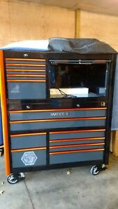 Brand New Matco Tools 6s Toolbox With Half Hutch And Sidelocker