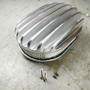 Chrm 12 Oval Deep Full Finned Air Cleaner Element Sbc Bbc Sbf Ram Jet 350 Ls
