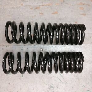 500lbs 290mm Tall Coil Over Spring Set For 375mm Shock Street Rod Pair