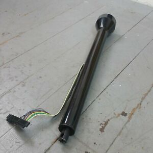 1947 1954 Chevy Truck 28 Black Steering Column Gm Floor Shift Gmc