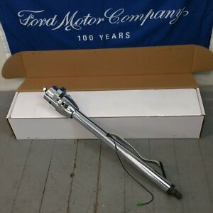 1967 1979 Ford Truck Chrome Steering Column Hot Rod Street Rod Shift Automatic