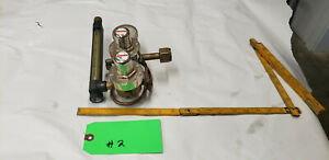 Smith 35 30 320 Gas Flow Meter Regulator Valve He Scfh arg Co2 Lot 2