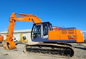 2010 Hitachi Tx350lc 3 Zaxis Excavator 3050 Hrs Hyd Thumb coupler And Aux Hyd
