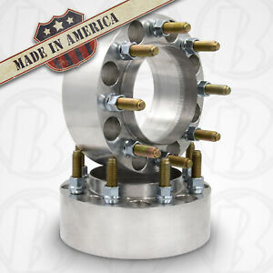 8x6 5 Dodge Dually Hub Centric Steel Ring Wheel Adapter 2 Thick Spacer X2