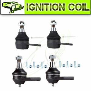 4pcs Front Upper Lower Ball Joint For 2000 2001 Dodge Ram 1500 Suspension Parts