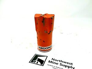 Atlas Copco Secoroc Hard Rock Mining Drill Bit 1 12 Degree Desk Paper Weight
