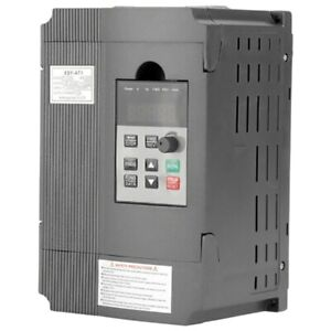 220v Single Phase To 3 three Phase Output Frequency Converter Vfd 1 5kw Ac P4b6