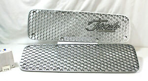 1968 Toronado Front Grille Grill Set With Chrome Logo By Oldsmobile Logo