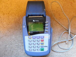 Verifone Omni 3200se Pos Credit debit Payment Terminal No Ac Adapter